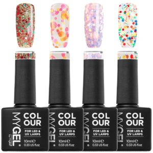 MYGEL by Mylee Confetti Gel Polish Quad 4x10ml