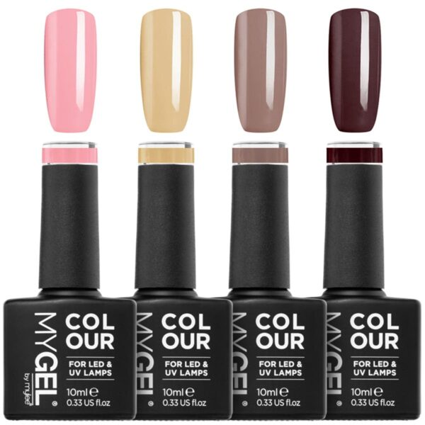 MYGEL by Mylee Neutrals Gel Polish Quad 4x10ml