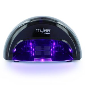 Mylee Pro Salon Series LED Lamp Convex - Black