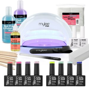 Mylee The Full Works Complete Gel Polish Kit (White) - Spring/Summer