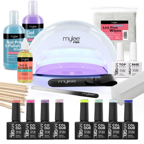 Mylee The Full Works Complete Gel Polish Kit (White) - Spring/Summer