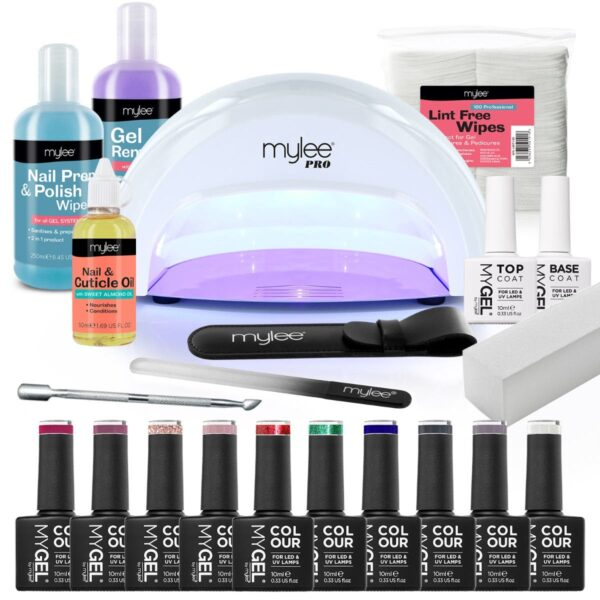 Mylee The Full Works Complete Gel Polish Kit (White) - Christmas Edition